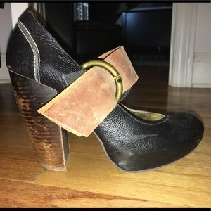 DV Dolce Vita Leather Mary Janes